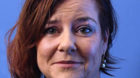 Anna Carlstedt tar över uppdraget som nationell samordnare mot extremism.  Foto: Fredrik Sandberg/TT