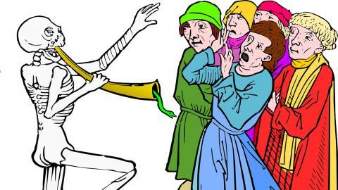 Digerdöden – bra för jämlikheten, dålig för de uppemot 40 miljoner som dog. Bild: Pixabay