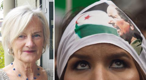 FN-spåret om Västsahara har varit dött i 25 år, skriver debattören. Kvinnan på bilden har en bandana med en bild av Polisarios förre ledare Mohamed Abdelaziz. bild Francisco Seco/TT