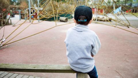 I Sverige 2017 är det inte självklart att barn får skydd, skriver Annika Lundegårdh. Bild: Jessica Gow/TT
