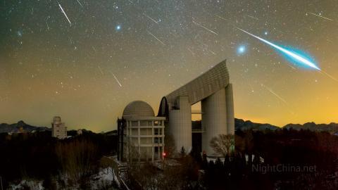 Bild: Steed Yu/NightChina.net/NASA
