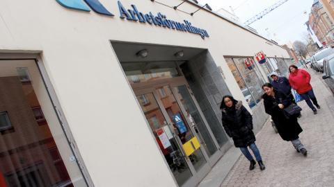 """""""Flera branscher skriker efter arbetskraft och det är de nyanlända som är vår kommande arbetskraft."""", säger Lise-Lotte Lindmark, på arbetsförmedlingen i Norrköping. Bild: Lisa Karlsson"""