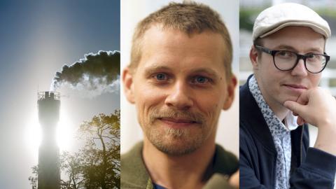Henrik Thorén och Eric Brandstedt. Bild: Henrik Montgomery/TT / Privata