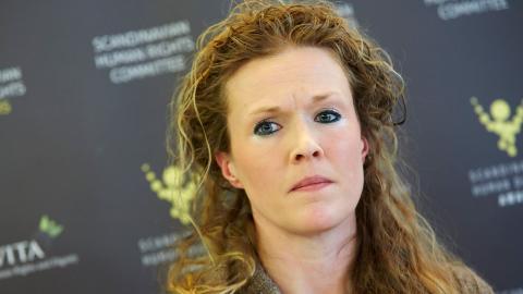 Ellinor Grimmark nekades jobb som barnmorska då hon vägrat genomföra aborter.  FREDRIK PERSSON / TT