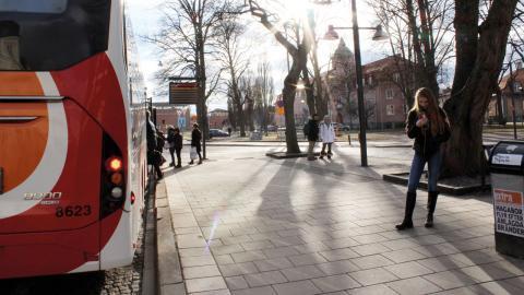Om nolltaxa införs skulle användandet av kollektivtrafiken troligen öka. Bild: Lisa Karlsson