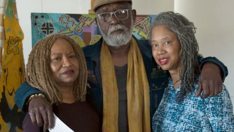 På kulturcentret KAOS Network i Leimert Park i Los Angeles finns filmskaparna Barbara McCullough, Ben Caldwell och Alile Sharon Larkin som på 1970-talet var med och drog i gång L.A. Rebellion.