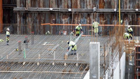 """""""Riskanalyser kring upplägget inför varje dags arbete är avgörande för alla på byggarbetsplatsen"""", skriver debattören.  Bild: Gorm Kallestad/NTB Scanpix/TT"""