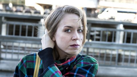 Frida Hyvönen är första artisten på Klubb Mono.  Bild: TT