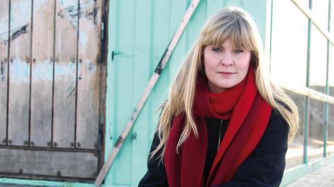 Hanna Strömbom är chefredaktör för dagstidningen ETC Göteborg. Bild: Christian Egefur