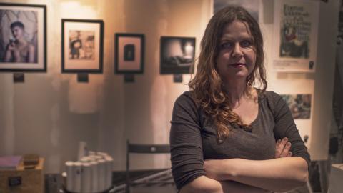 """Johanna Linder är en av initiativtagarna till """"Jönköpings fria kulturallians""""."""