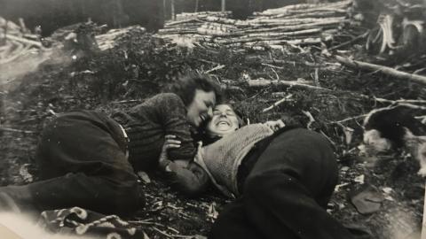 Projektet Myter och verkligheter – En lesbisk odyssé tar sikte på lesbisk, icke-binär och transmaskulin historia och nutid iNorrland. Bild: Privat