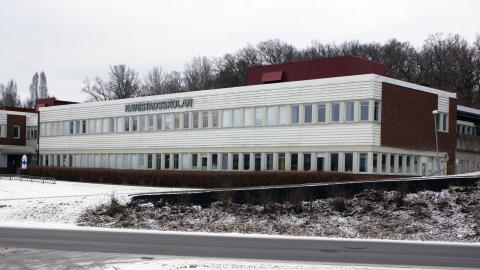 På Navestadsskolan gick 29,5 procent av eleverna ut nian utan betyg förra året.  Bild: Malin Wernström