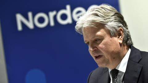 Nordeas vd Casper von Koskull. Bild: Claudio Bresciani/TT