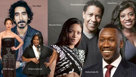 Årets gala kan komma att dela ut pris för bästa skådespelare till någon av dessa personer. Sju icke-vita skådespelare, varav sex är svarta. Det tangerar 2007 års rekord.