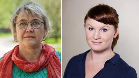 Ann-Margarethe Livh (V), Clara Lindblom (V). Bilder: Malcolm Jacobson / Lieselotte van der Meijs