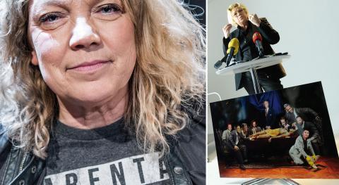 2013 hölls en pressträff kring hovets PO-anmälan om Elisabeth Ohlson Wallins omtalade fotomontage. Bild: Claudio Bresciani / TT