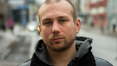 Ungdomar behöver få uttrycka sig och bli lyssnade på, menar Jesper Lundby. Bild: Johan Ekfeldt