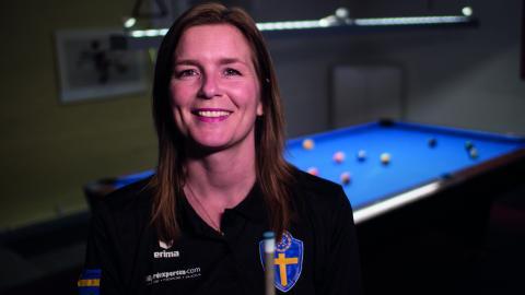 Monika Margeta från Jönköping laddar för EM i Portugal. Bild: Daniel Johansson