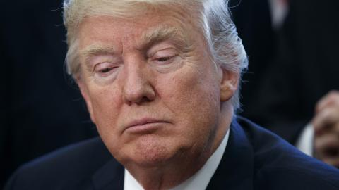 Donald Trump. Bild: Evan Vucci/AP