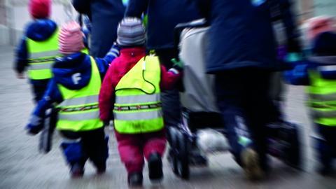"""""""Jag ser fram emot mansupproret inom förskola, skola, vård och omsorg."""" Bild: Hasse Holmberg/TT"""