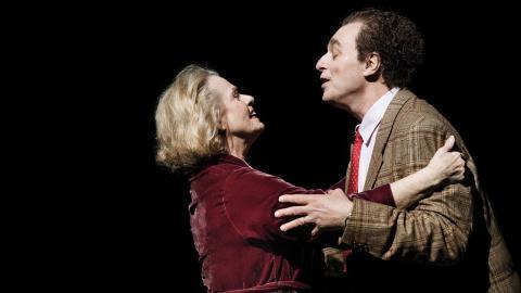 """Dramaten: på stora scenen visas Marie-Louise Ekmans """"Försökskaninerna"""". Bild: Dramaten"""