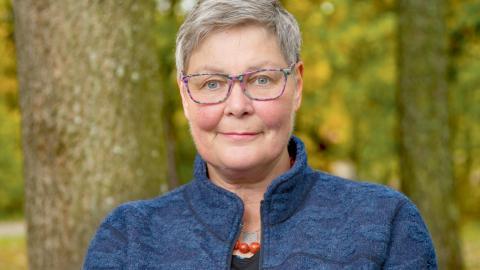 """""""Till min allra bästa vän"""" är Maria Hambergs tredje roman, efter """"Greklandssommaren"""" som utkom 2008 och """"Drömfabriken"""" från 2010.  Bild: Jan-Ake Eriksson"""