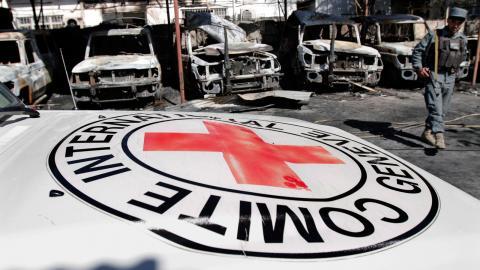 UD har sedan länge bedömt säkerhetsläget i Afghanistan som mycket farligt och avråder från alla resor dit. Till och med Röda Korset har nu lämnat landet Bild: Rahmat Gul/AP