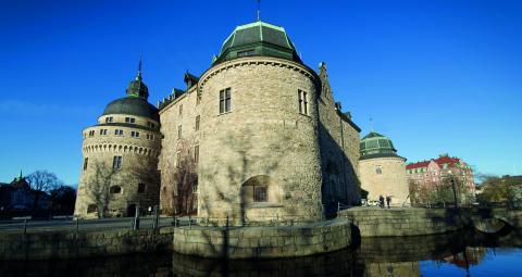 I sommar ska Örebro läns museum visa upp en byggnadshistorisk utställning med återanvända modeller i Vasasalen. Det framtida målet är att en helt ny basutställning ska byggas upp på slottet.  Bild: FREDRIK SANDBERG/TT