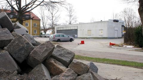 I kvarteret Mesen, intill Linköpingsvägen i Kneippen där det tidigare låg en bensinmack, ska nu Norrköpings första trygghetsboende byggas. Bild: Lisa Karlsson