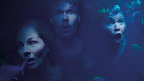"""Kammaroperan """"Akvarium""""  med operakompaniet Man Must Sing är den uppsättning som Scenkonstbienalens producent Ingrid Fransson skulle välja att se – om hon bara fick välja en. Bild: Per T Buhre"""