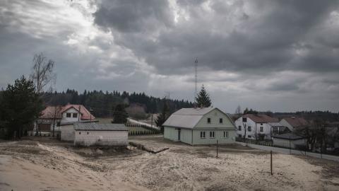 Vy över Podlesina, en av tjugo byar i området Narol, som ingår i Lubaczow-regionen. Bild: Emil Wesolowski