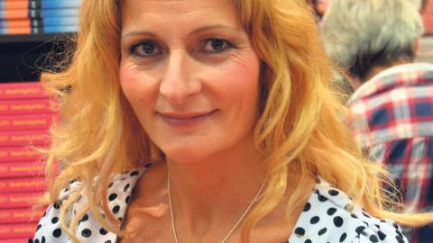 Katerina Janouch är krönikör för högerextrema Nyheter idag.  Bild: Bengt Oberger/CCBY-SA3.0