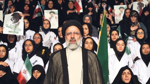 Sommaren 1988 verkställde kommissionen 30 000 dödsdomar. Rättegångarna varade knappt mer än tre minuter i genomsnitt Bild: Ebrahim Noroozi/AP/TT