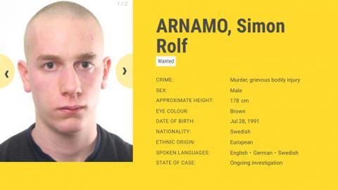 Simon Arnamo. Bild: Europol