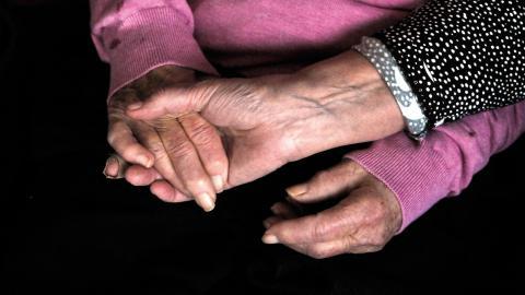 Sommaren 2013 fick Socialstyrelsen i uppdrag av regeringen att utforma ett nationellt kunskapsstöd för god palliativ vård. Kunskapsstödet innehåller vägledning, nationella riktlinjer och indikatorer i ett gemensamt dokument.  Bild: Hasse Holmberg/TT