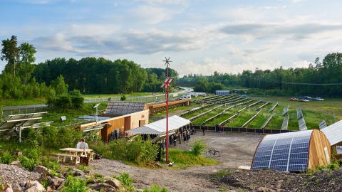 ETC Solpark i Katrineholm. Bild: Fredrik Olsson