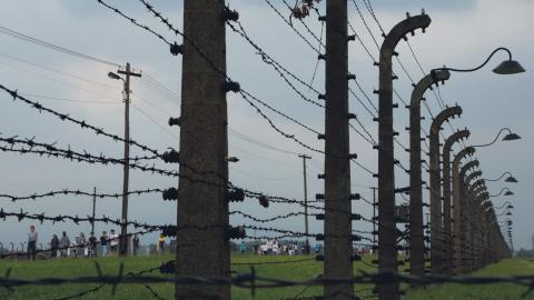 Det var en resa till ett förintelseläger som blev vändpunkten för Sofia. Bild: Amel Emric/AP/TT