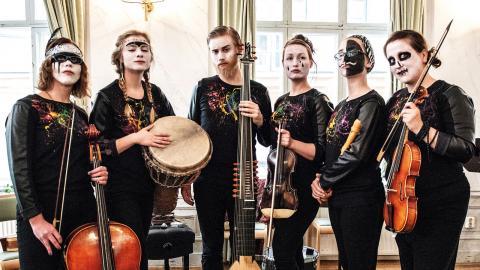 Linus Björnstam och Bastard barock (bild) är några av artisterna som uppträder under sommarens kammarmusikfestival i Sundsvall.