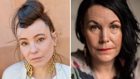 Författarna Lo Kauppi och Maria Sveland är två av de som gästar Bokmassan.  Jonas Ekströmer/TT, Staffan Löwstedt/SvD/TT
