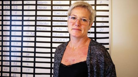 Cecilia Lejon, förvaltningschef på arbetsmarknadsförvaltningen i Trelleborgs kommun, tycker att roboten har många fördelar. Bild: Åsa Kjellman