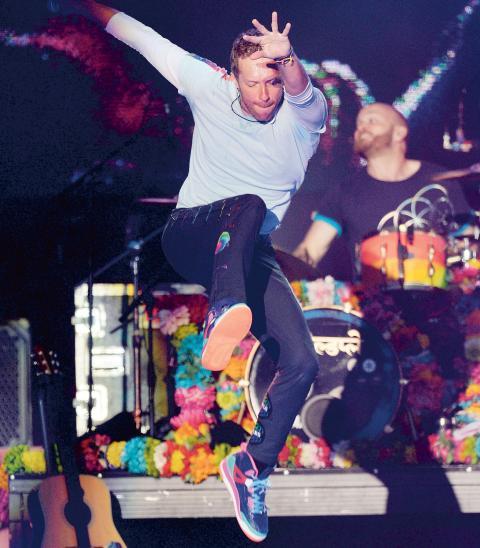 Coldplay bjuder in till tvådagarsfest på Ullevi den 25 och 26 juni.  Bild: Dave Hogan/AP/TT