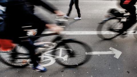 Företaget Wolt som nu lanserar hemkörningstjänster via cykel i Örebro saknar kollektivavtal. Bild: Tomas Oneborg/SvD/TT