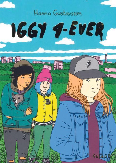 Högstadietjejen Iggy bor med sin ensamstående mamma i ett miljonprogramsområde, precis som författaren själv gjorde.
