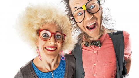 Jessie och Jecko, kändisarna från Barnkanalen, medverkar.