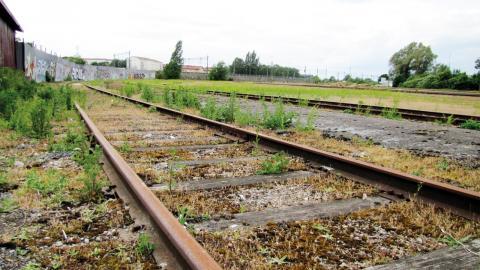 Järnvägsområdet ska byggas om till en ny stadsdel med uppemot 2500 bostäder och arbetsplatser.  Bild: Lars Edling