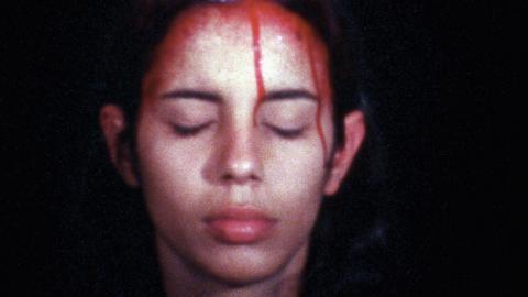 Under 1980-talet fick Ana Mendieta en hel del uppmärksamhet i USA, främst för sina aktivistiska och provokativa verk. Hon blev en erkänd konstnär med soloutställningar, samtidigt som hon kurerade andra konstnärers utställningar.   Bild: Bildmuseet Umeå