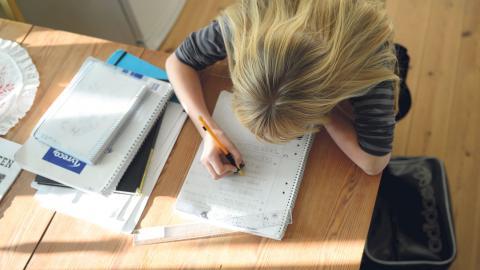 """""""Av 'snällism"""" hävdade vissa pedagoger och politiker att skolan varken skulle ha läxor, prov eller betyg, därför att dessa svaga elever skulle kunna känna sig 'stigmatiserade' av ett fokus på studieresultat"""", skriver debattören. Bild: FREDRIK SANDBERG/TT"""