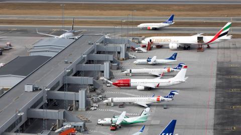 Den aviserade flygskatten kommer inte att gälla lika för alla resmål. Bild: Gorm Kallestad/NTB scanpix/TT