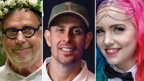 Skådespelaren Sven Melander, rapparen Dogge Doggelito och aktivisten och handbollsspelaren Linnéa Claeson är några av årets sommarvärdar.
