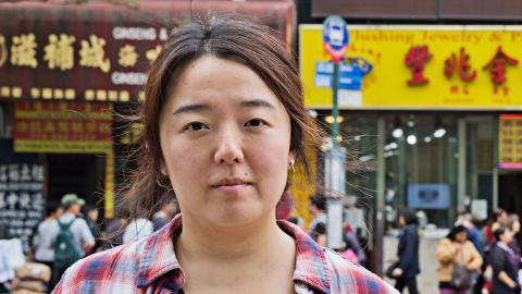 Angie Kim, som kom till USA från Sydkorea 1993. Bild: Jonas Cullberg